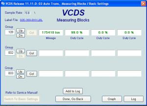 [EDC15-16 Mileage], DSG reading km, VW PASSAT 3C