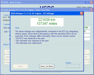 [EDC15-16 Mileage] , VCDS, VW PASSAT 3C